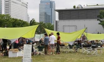 そなエリア東京バーベキューガーデンがフジテレビ「バイキング」の撮影に利用されました!