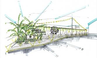 話題の新施設「スポル品川大井町」にコンセプトBBQを展開します