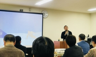 起業家支援イベントで講演を行いました