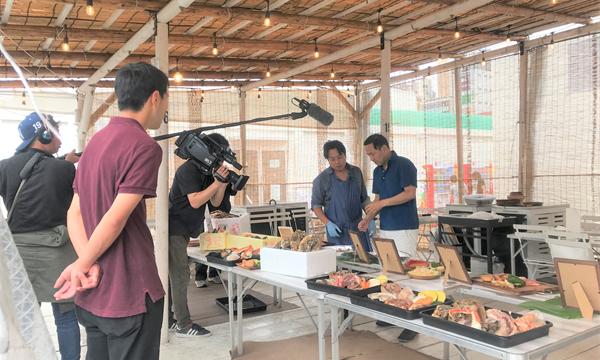 THE BBQ BEACH スポル品川大井町にて試食会の様子